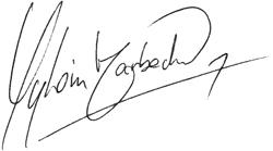 Signature Sylvain Marbach