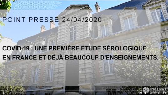 Aperçu vidéo Institut Pasteur
