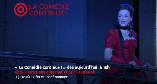 Site officiel de la Comédie Française