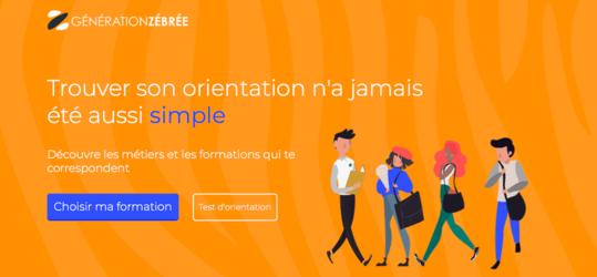Site web Génération zébrée