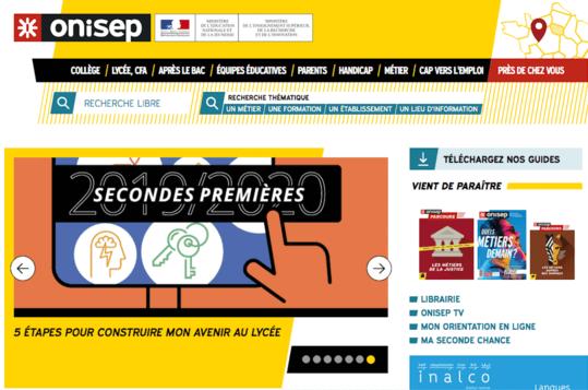 Site web ONISEP