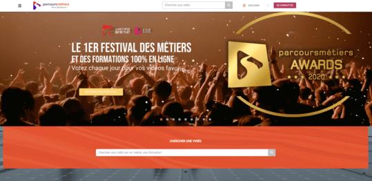 Site web Parcours Métiers