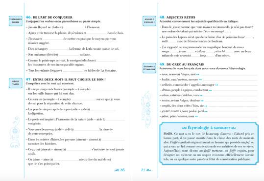 Les pièges les plus sournois de la langues françaises - pages 26 et 27