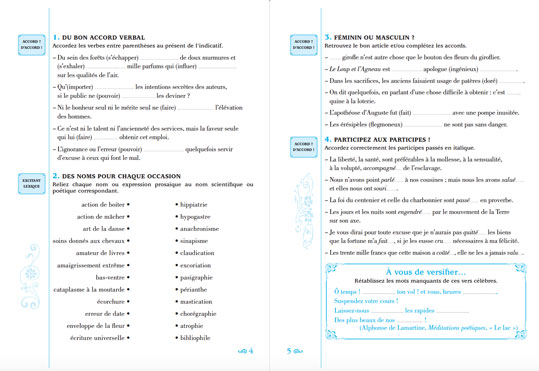 Les pièges les plus sournois de la langues françaises - pages 4 et 5