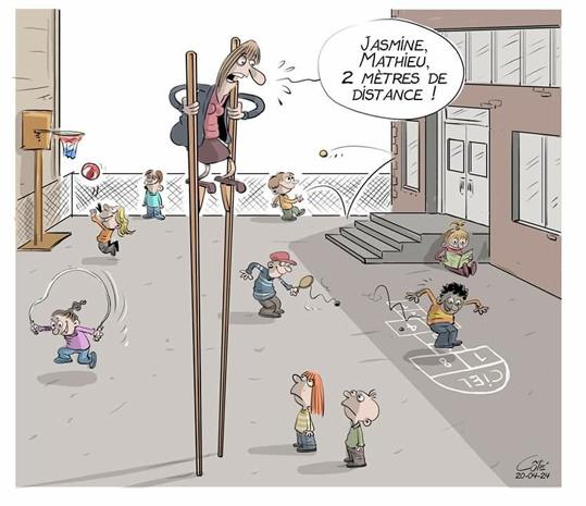 Reprise école - Cour de récréation