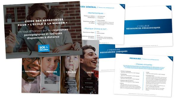 Guide des ressources pour « L'École à la maison »